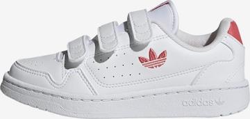 Baskets 'NY 90' ADIDAS ORIGINALS en blanc