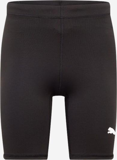 PUMA Spordipüksid must / valge, Tootevaade