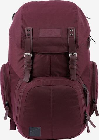 NitroBags Rucksack in Rot