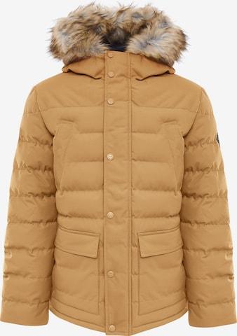 Veste mi-saison ' Carrow ' Threadbare en jaune