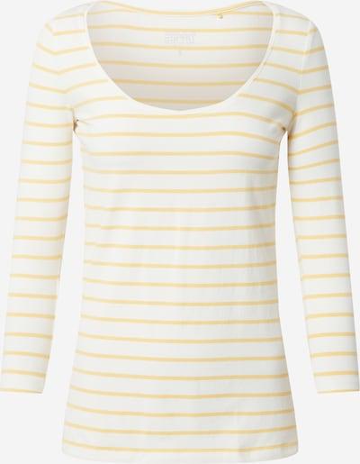 ESPRIT Shirt in gelb / weiß, Produktansicht