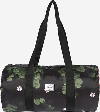 Herschel Reisetasche in oliv / beere / mischfarben / rosa / schwarz, Produktansicht