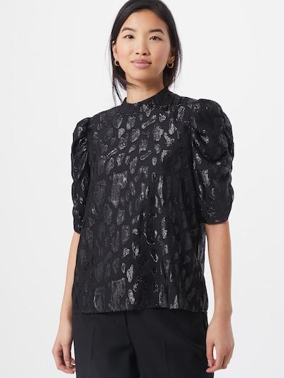 VERO MODA Блуза 'VICKY' в антрацитно черно / черно, Преглед на модела