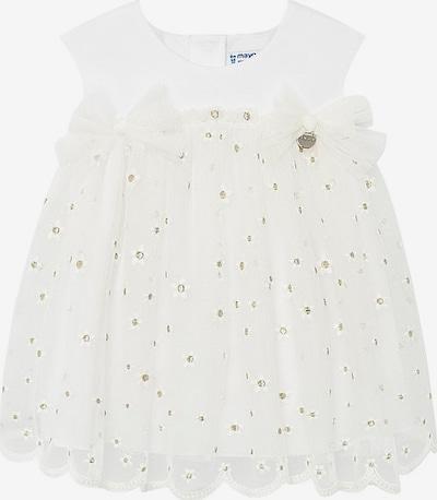 Mayoral Kleid in gold / weiß, Produktansicht