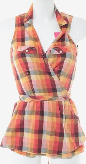 LEVI'S Kurzarm-Bluse in XS in hellorange / rot, Produktansicht