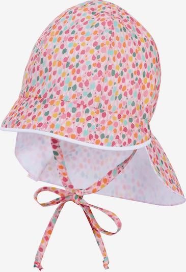 STERNTALER Hut in azur / gelb / orange / pink / rosa, Produktansicht