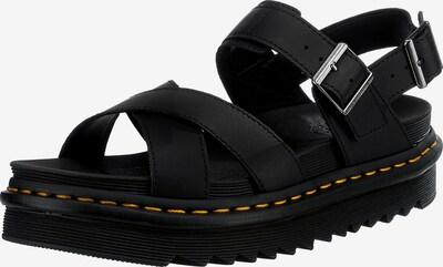 Sandale cu baretă 'Voss II' Dr. Martens pe negru, Vizualizare produs