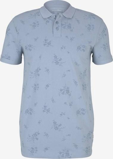 TOM TAILOR DENIM Shirt in de kleur Smoky blue / Lichtblauw: Vooraanzicht