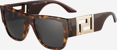 VERSACE Sonnenbrille in braun / gold / schwarz, Produktansicht