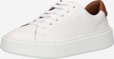 CLARKS Sneaker 'Hero Lite Lace' in braun / naturweiß, Produktansicht