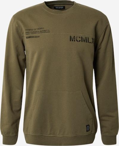 SHINE ORIGINAL Sweater majica u maslinasta: Prednji pogled
