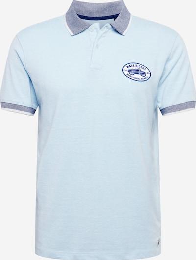 Petrol Industries Shirt in de kleur Blauw / Lichtblauw / Wit, Productweergave