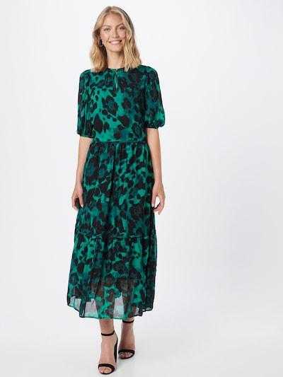 InWear Košeľové šaty 'Yasmeen' - smaragdová / čierna, Model/-ka