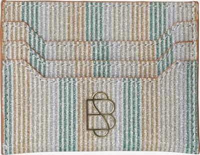 BeckSöndergaard Θήκη 'Glitza' σε μπεζ / χρυσό / πράσινο, Άποψη προϊόντος