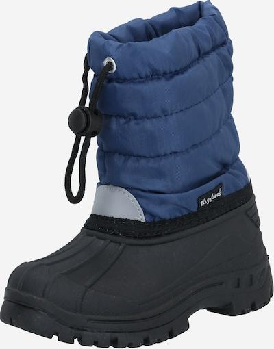PLAYSHOES Sniega apavi jūraszils / melns, Preces skats