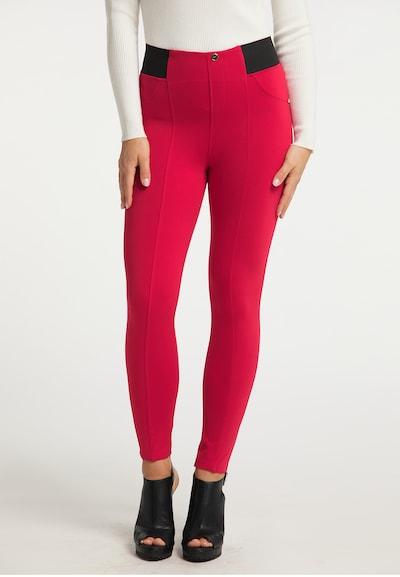 faina Hose in pink / schwarz, Modelansicht