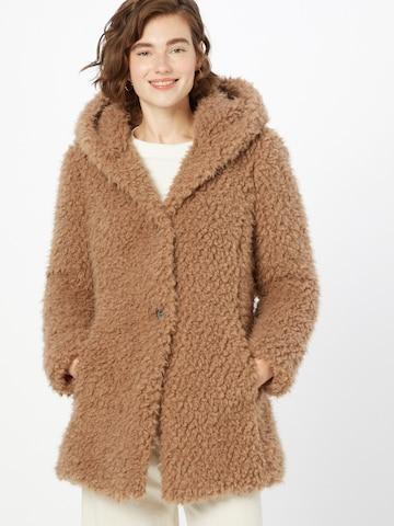 Amber & June Winter Coat in Brown
