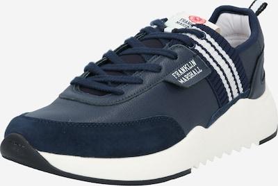 FRANKLIN & MARSHALL Sneaker 'ALPHA HOLES 420' in navy / weiß, Produktansicht