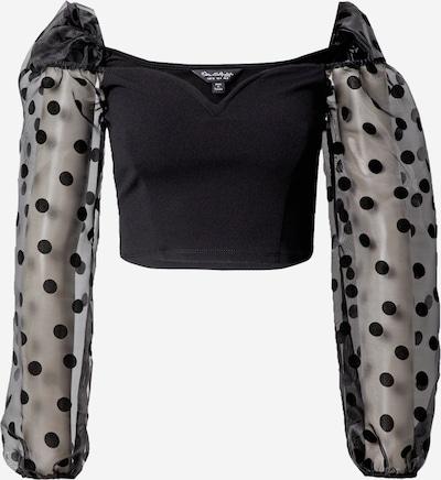 Miss Selfridge Bluse in schwarz, Produktansicht