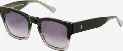 LDNR Sonnenbrille CARNABY in schwarz, Produktansicht