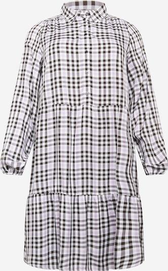 ONLY Carmakoma Kleid 'DIEMA' in pastelllila / schwarz / weiß, Produktansicht