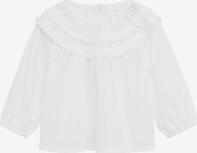 MANGO KIDS Blouse 'Jane' in de kleur Wit, Productweergave