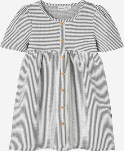 NAME IT Kleid in blau / braun / weiß, Produktansicht
