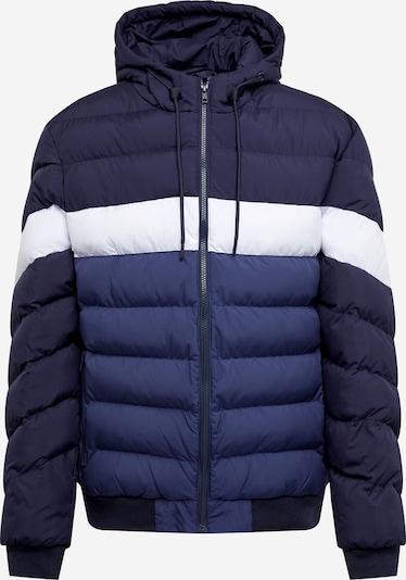 Giacca invernale Urban Classics di colore marino / navy / bianco, Visualizzazione prodotti