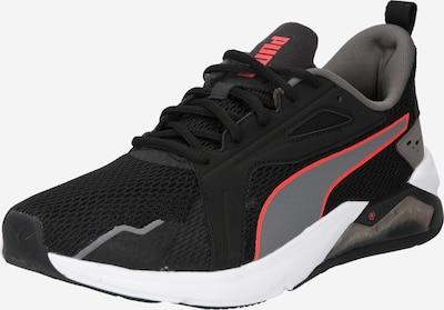 PUMA Sportschuh in grau / rot / schwarz, Produktansicht