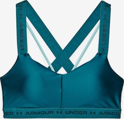 UNDER ARMOUR Спортен сутиен в пастелно синьо / черно, Преглед на продукта