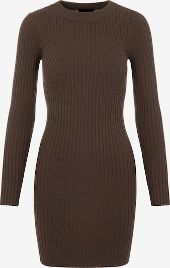 PIECES Knitted dress 'Crista' in Brown, Item view