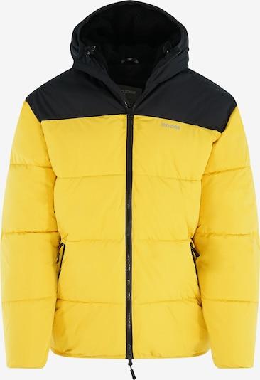 mazine Winterjas ' Estevan ' in de kleur Geel / Zwart, Productweergave