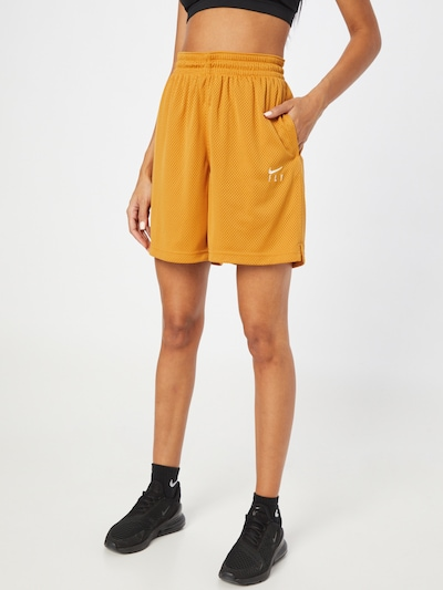Pantaloni sport 'Fly' NIKE pe galben închis, Vizualizare model
