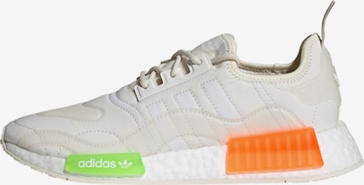ADIDAS ORIGINALS Sneaker 'NMD_R1' in neongrün / neonorange / offwhite, Produktansicht
