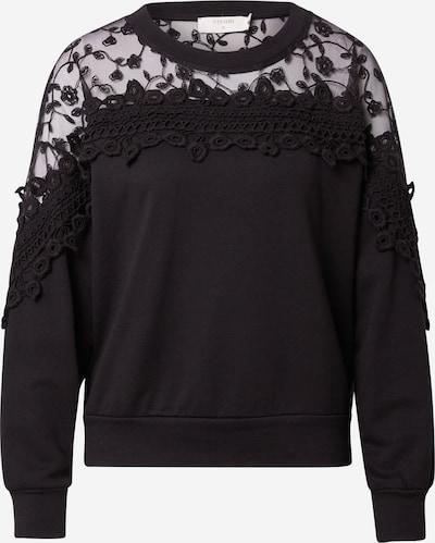 Cream Sweatshirt 'Kalanie' i svart, Produktvy