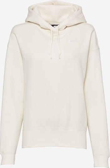 Nike Sportswear Sweatshirt in weiß / eierschale, Produktansicht