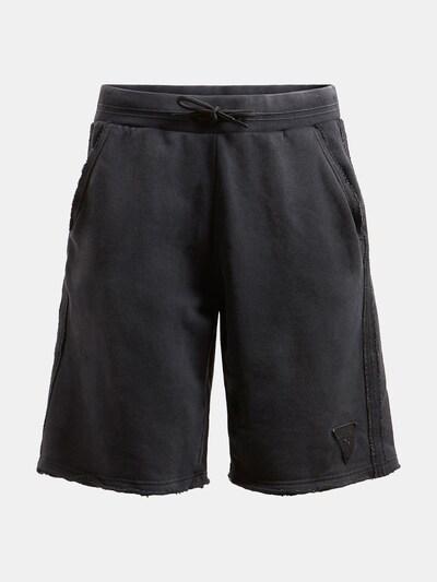 GUESS Pantalon en noir: Vue de face