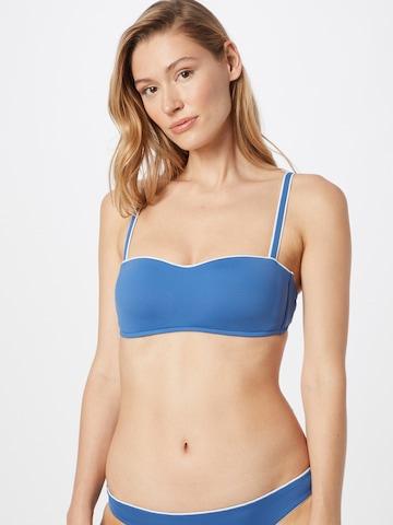 Seafolly Bikiinitopp 'Marina', värv sinine