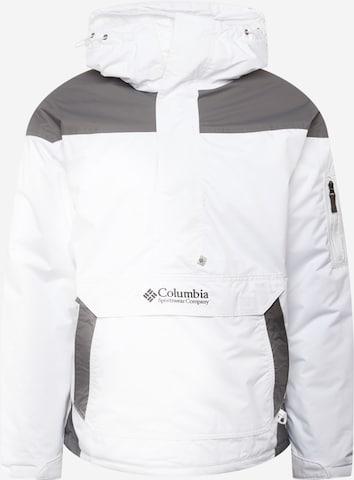 COLUMBIA Vabaajajope 'Challenger', värv valge