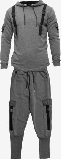 Tom Barron Jogginganzug in grau / anthrazit, Produktansicht