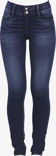 Le Temps Des Cerises Jeanshose 'ULTRAPUL' in blau / schwarz: Frontalansicht