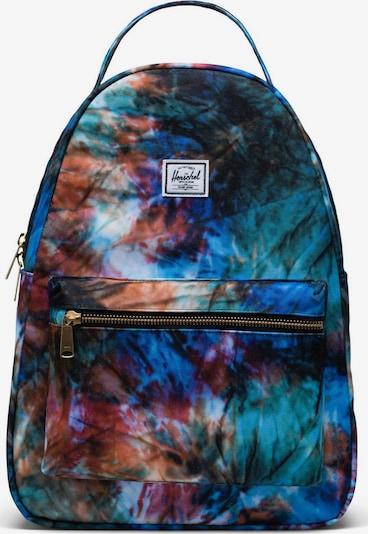 Herschel Ruksak 'Nova' u plava / zelena / narančasta / crvena / bijela, Pregled proizvoda