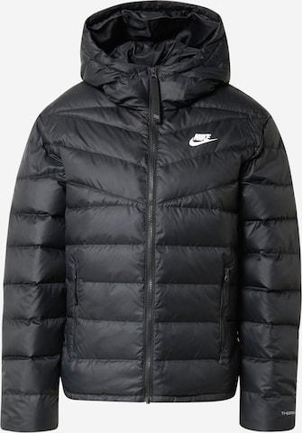 Nike Sportswear Kurtka zimowa w kolorze czarny