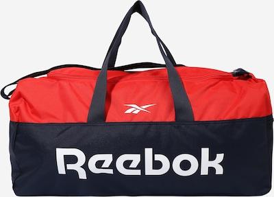 REEBOK Sac de sport en bleu nuit / rouge, Vue avec produit