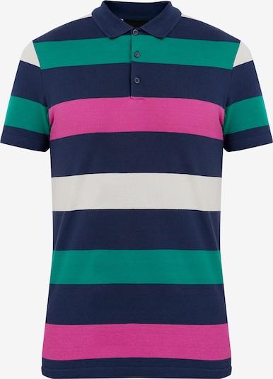 Finn Flare Poloshirt in dunkelblau, Produktansicht