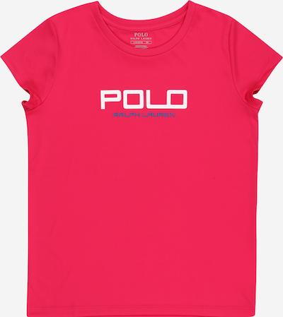 POLO RALPH LAUREN T-Shirt in blau / pink / weiß, Produktansicht