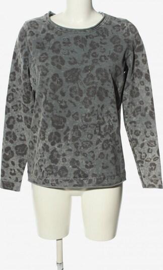 Donnell Sweatshirt in M in hellgrau / schwarz, Produktansicht