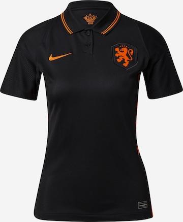 NIKETehnička sportska majica 'Netherlands 2020 Stadium Away' - crna boja