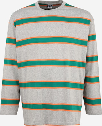 Urban Classics Plus Size Shirt in Grey