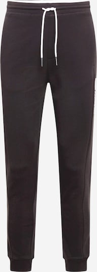 BOSS ATHLEISURE Spodnie 'Hadiko 1' w kolorze czarny / białym, Podgląd produktu